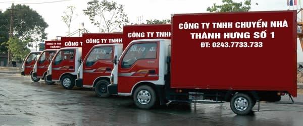Dịch vụ chuyển nhà, chuyển văn phòng trọn gói Thành Hưng