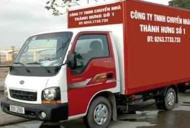 Taxi tải chở hàng – Chuyển nhà trọn gói thành hưng