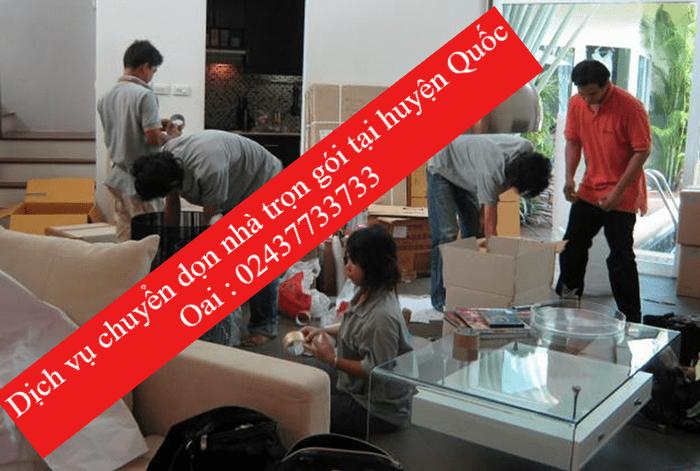 Dịch vụ chuyển dọn nhà tại huyện Quốc Oai