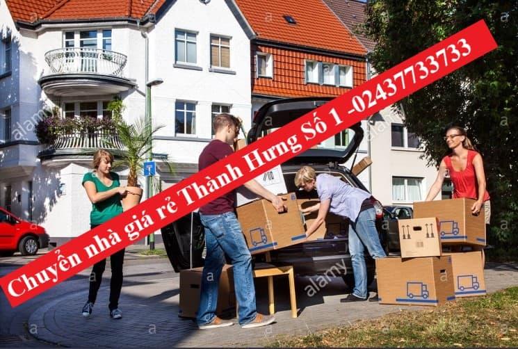 Dịch vụ chuyển nhà trọn gói thành hưng giá rẻ Bình Dân